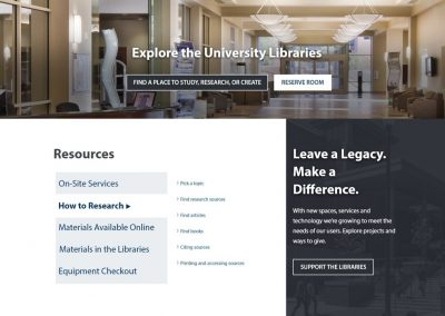 Design Thinking Activities for a Library Website Taxonomy